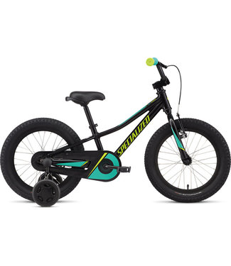 Specialized Riprock Coaster 16 Tar Black/Emerald Green/Hyper