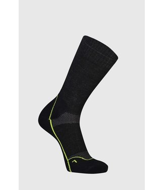 "Mons Royale Mens MTB 9"" Tech Sock Black"