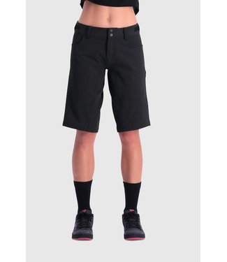 Mons Royale Womens Momentum Bike Shorts Black