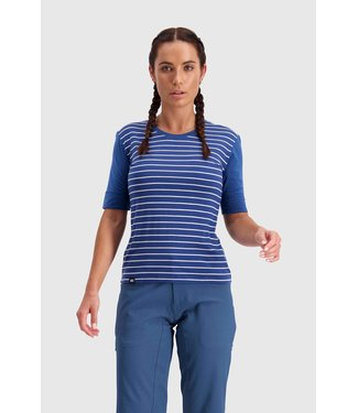 Mons Royale Womens Cadence Tee Ink Stripe