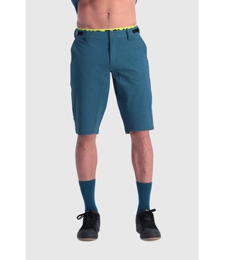 Mons Royale Mens Momentum Bike Shorts Oily Blue