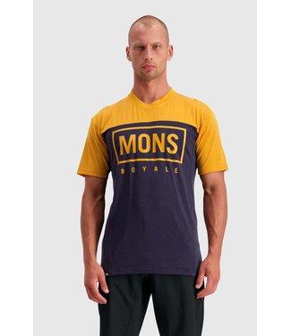Mons Royale Mens Redwood Enduro VT Gold / 9 Iron