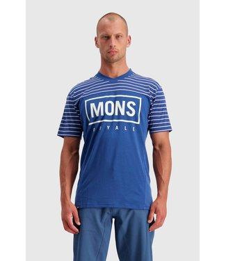 Mons Royale Mens Redwood Enduro VT Ink Stripe