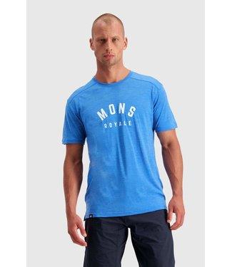 Mons Royale Mens Vapour T Rebel Blue
