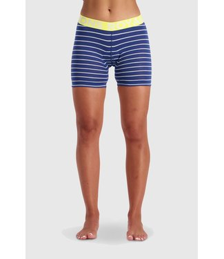 Mons Royale Womens Momentum Chamois Shorts Ink Stripe