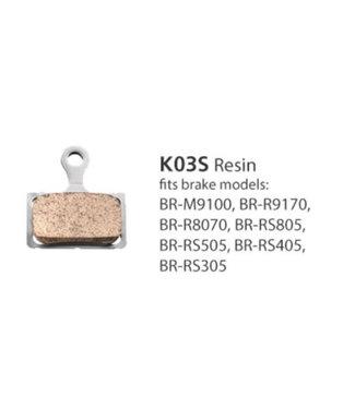 Shimano RESIN PAD (K03S) & SPRING