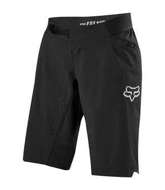 Fox WOMENS ATTACK SHORTS [BLACK] XL
