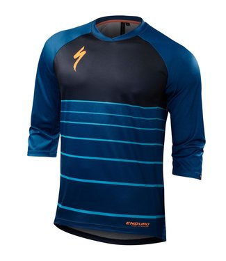 Specialized Enduro Comp 3/4 Jersey Cobra Blue XXL