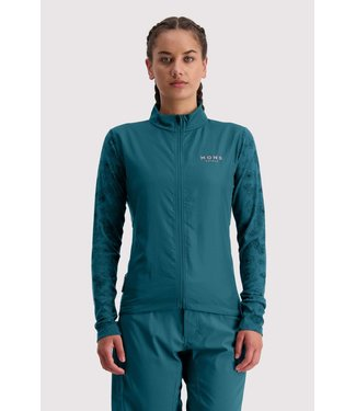 Mons Royale Womens Redwood Wind Jersey Deep Teal