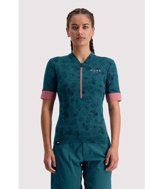Mons Royale Womens Cadence Half Zip Forest Alchemy