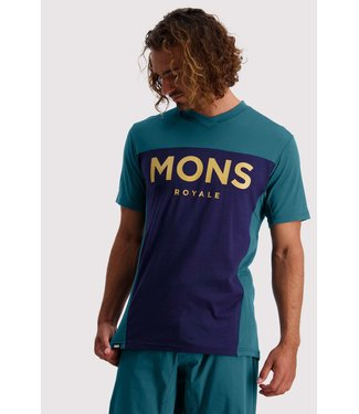 Mons Royale Mens Redwood Enduro VT Deep Teal/ Navy