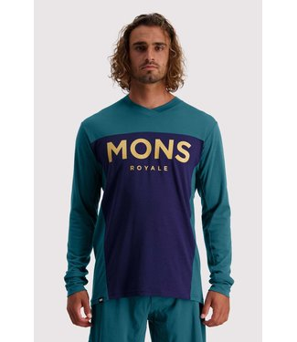 Mons Royale Mens Redwood Enduro VLS Deep Teal/ Navy