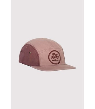 Mons Royale Beattie 5 Panel Cap Pink Clay