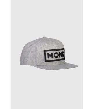 Mons Royale Wool Connor Cap Grey Marl