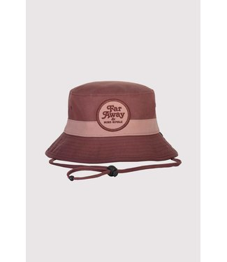 Mons Royale Beattie Bucket Hat Pink Clay