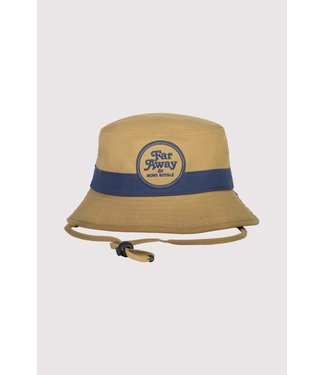 Mons Royale Beattie Bucket Hat Dark Denim/ Honey