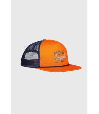 Mons Royale The ACL Trucker Cap Atlantic / Orange Smash