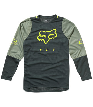 Fox Defend LS Jersey - Emerald