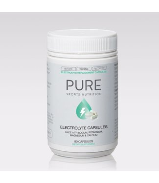 Pure Sports Nutrition PURE - ELECTROLYTE REPLACEMENT CAPS (80 per BOTTLE)