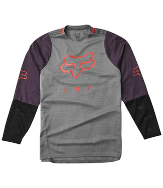 Fox Defend LS Jersey - Pewter
