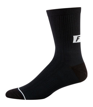 "Fox 8"" Trail Sock - Black"