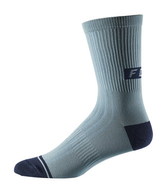"Fox 8"" Trail Sock - Light Blue"