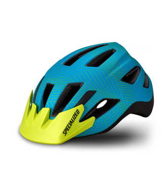 Specialized Shuffle Helmet Child - Aqua/Hyper Green Dot Plane Child (4-7 Years)