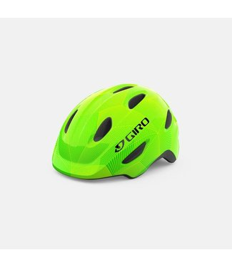 Giro XS Scamp Green/Lime Lines