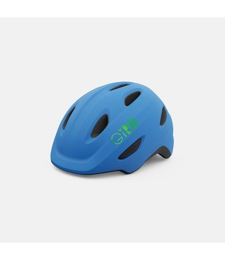 Giro Scamp XS - Matte Blue/Lime