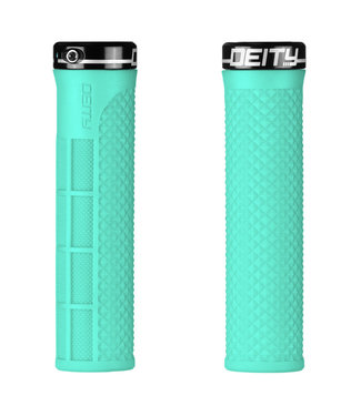 Deity Lockjaw Lock-on Grips Mint