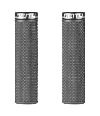 Deity Supracush Lock-on Grips Black