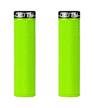 Deity Supracush Lock-on Grips Green