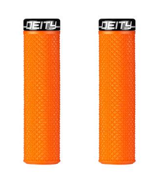 Deity Supracush Lock-on Grips Orange