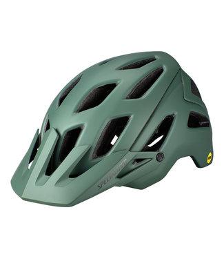 Specialized Ambush ANGi MIPS Helmet - Black/Sage Green