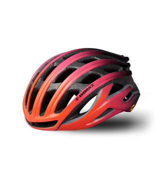 Specialized S-Works Prevail II ANGi MIPS Helmet Lava/Purple