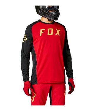 Fox DEFEND LS JERSEY - Chili
