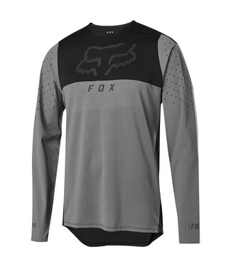 Fox FLEXAIR DELTA LS JERSEY - Pewter