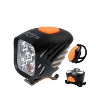 Magic Shine Front & Rear - 5000 Lumen