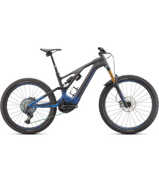 Specialized S-WORKS TURBO LEVO - Blue Ghost Gravity Fade / Black / Light Silver