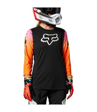 Fox WOMENS DEFEND JERSEY PYRE BLACK