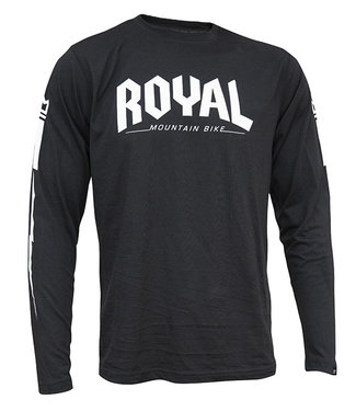 Royal Racing Core Jersey LS - Black