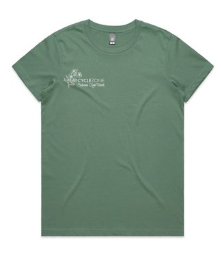 Cyclezone Womens Ride Month Womens Ride Month 2021 Tee Shirt Sage (Pre-order)