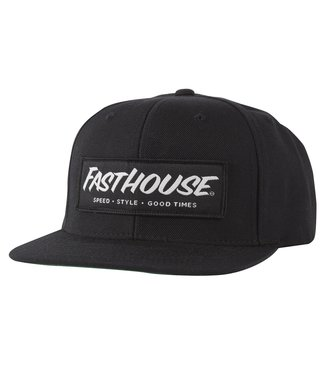Fasthouse Speed/Style Hat Black