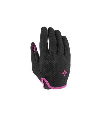 Specialized Women's Grail Long Finger Gloves Black/Pink