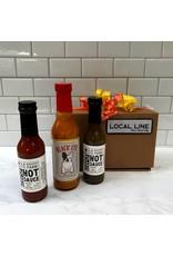 Exit9 Gift Emporium Hot Sauce Trio - Brooklyn made
