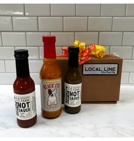 Exit9 Gift Emporium Hot Sauce Trio - Brooklyn made