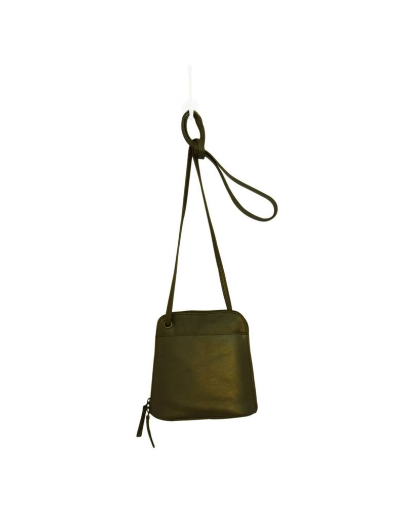 Latico Leathers Lilly Bag in Metallic Olive