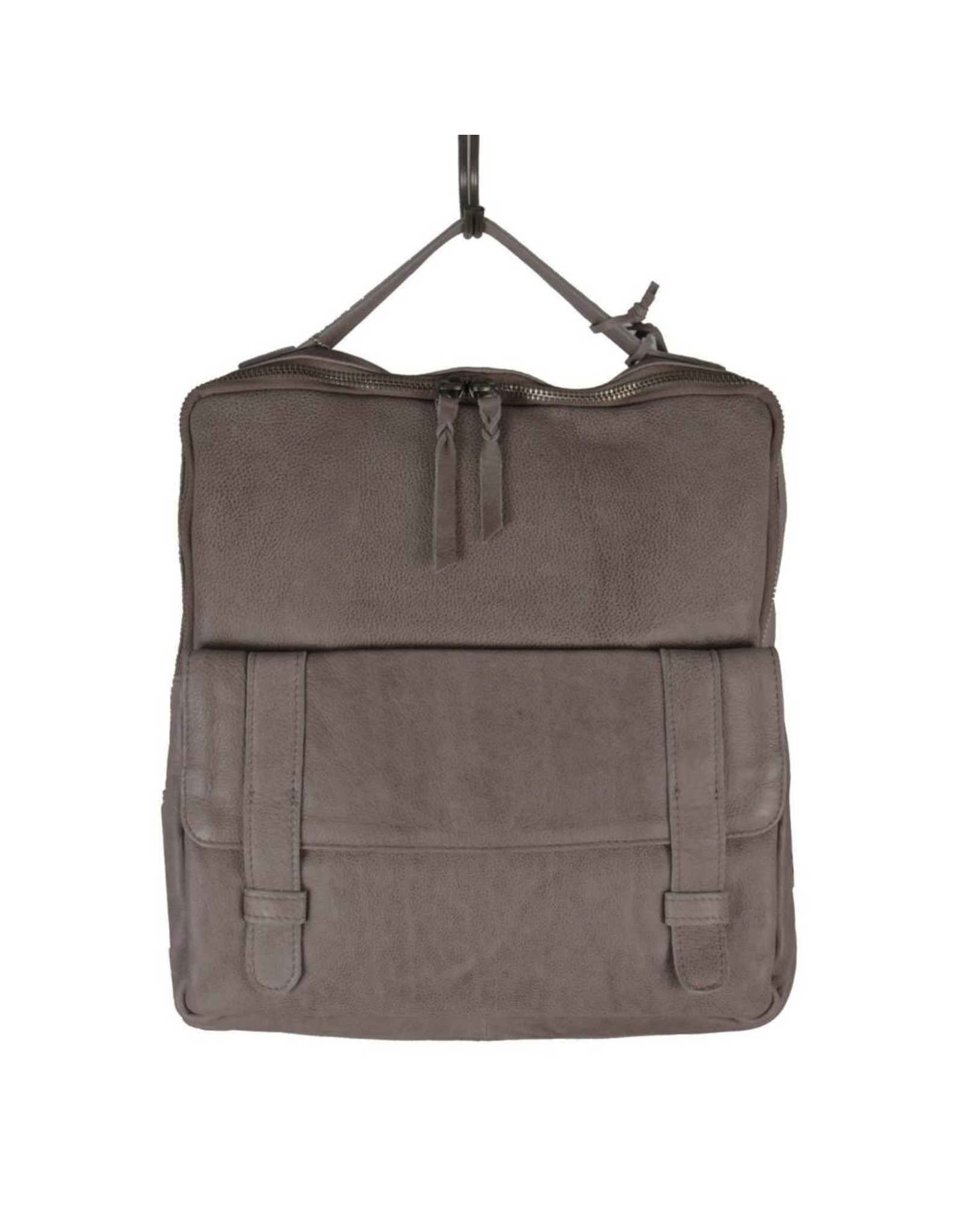 Latico Leathers Hester Backpack in Charcoal