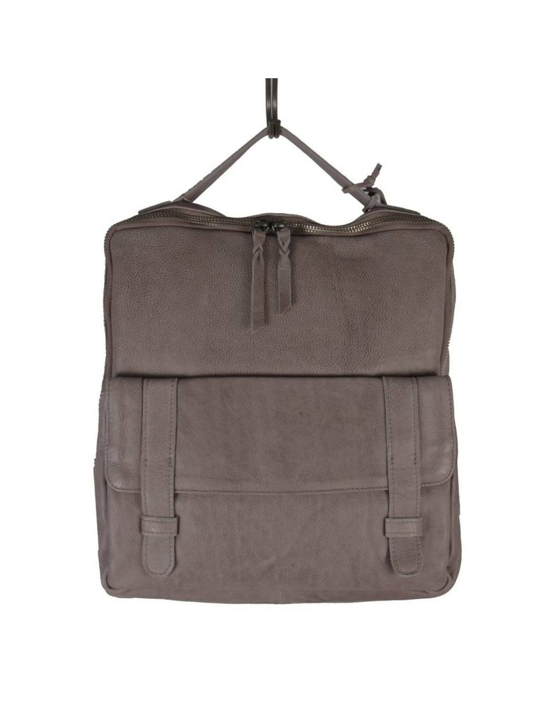 Latico Leathers Hester Backpack - Charcoal
