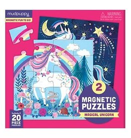 mudpuppy Unicorn Magnetic Puzzle